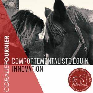 Livre Comportementaliste Equin, innovation - Coralie FOURNIER - Equitalliance