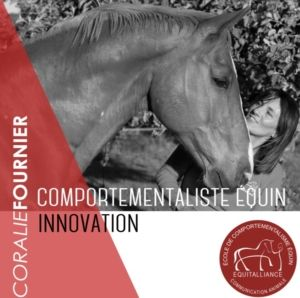 Livre Coralie Fournier Equitalliance, comportementaliste Equin innovation